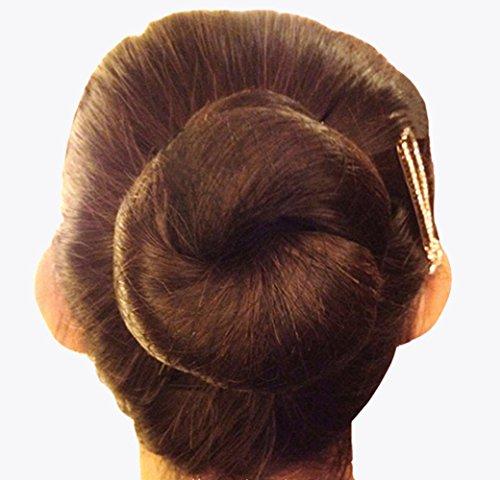 KKTOCHVC 15pcs 20 Inches Reusable Hair Nets Invisible Hairnets Elastic Edge Mesh 50cm (coffee)