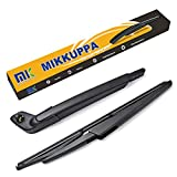 Rear Wiper Arm Blade - for 2002-2007 Volvo XC70, V70, MIKKUPPA Back Windshield Wiper Replacement - All Season Natural Rubber Cleaning Window