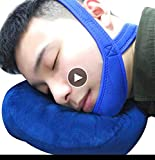 Chin Strap for Snoring, Anti Snoring Chin Strap, Anti Snore Chin Strap for Sleep Machine Users, snoring, Effective Anti Snoring Free Sleep Mask, Enhanced Stop Snoring Sleep Aids for Men, Women