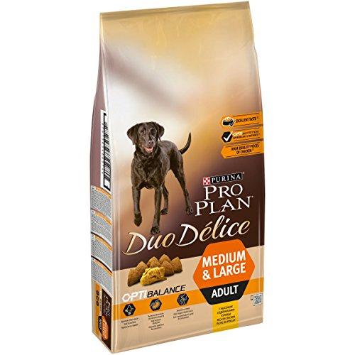 PRO PLAN DUO DELICE - Riche en Poulet - 10 KG - Croquettes pour chien adulte