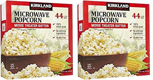 In stock Kirkland Direct stock discount Signature gDhmST Microwave Popcorn 3.3 2 44 Count oz