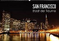 San Francisco - Stadt der Traeume (Wandkalender 2022 DIN A2 quer): Einzigartige Aufnahmen der Metropole im Sunshine State Kalifornien. (Monatskalender, 14 Seiten )
