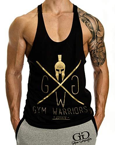 Stringer Tank Top Gym Warriors Gold (S)