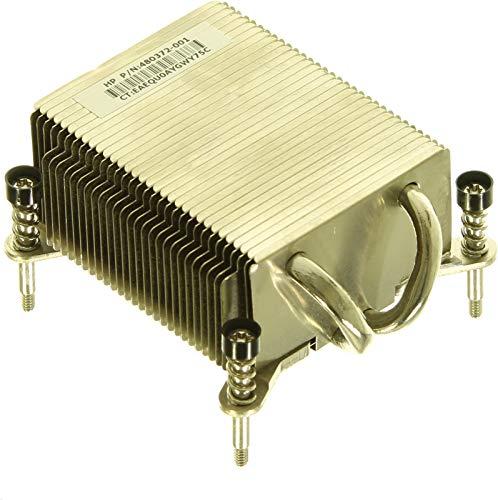 HP 490814–001Prozessor Heizkörper Lüfter, Kühler und Heizkörper–Lüfter, refoidisseurs und Heizkörper (Prozessor, Heizkörper, Compaq dc7900, Metallic)