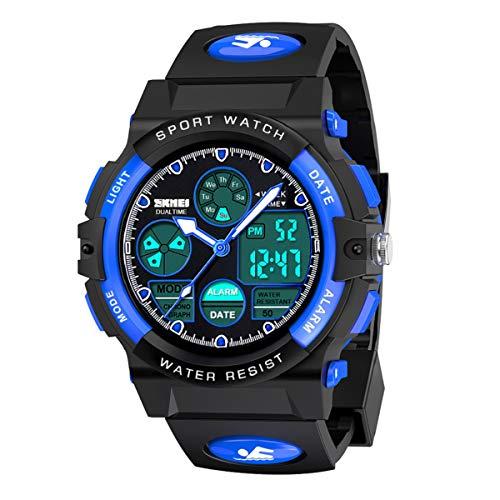 SOKY Outdoor-Spielzeug für 6-15 Jahre Jungen Kinder, wasserdichte Digitaluhren Sportuhren Armbanduhr Geschenke für Jungen Mädchen 6-15 Jahre 6-15 Jahre Jungen Mädchen Geburtstags Geburtstagsgeschenk