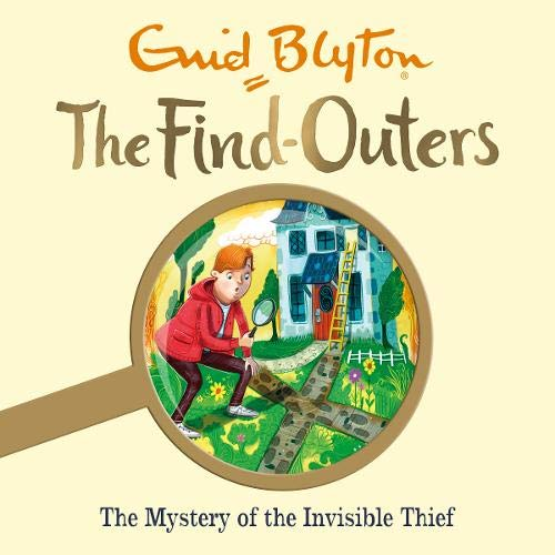 The Mystery of the Invisible Thief cover art