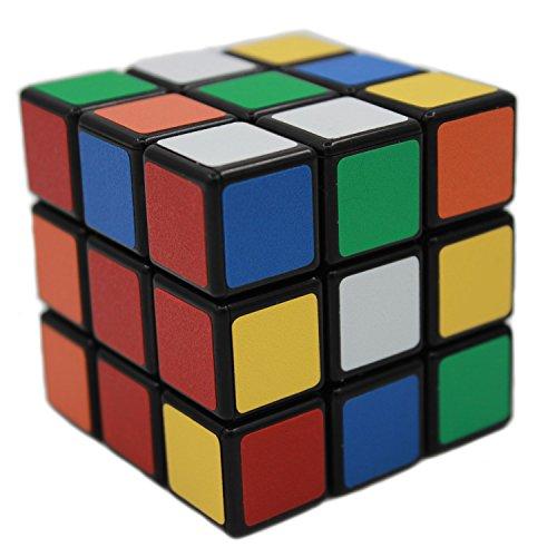 MEISHINE® Profesional 3x3x3 Cubo Mágico - Mágico Cubo de la Velocidad Cubo Mágico Inteligencia Juego de Puzzle Cube Magic Speedcube Match Magic Cube (Black Background)