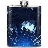Bei fiaschi dell'anca del liquore del whiskey dell'alcool del liquore dell'alcool a prova di perdite dell'acciaio inossidabile portatile fresco del diamante di modo