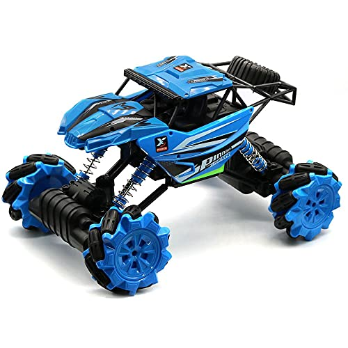 DONGKUI 1/12 ScaleRC Cars Stunt Escalada Control Remoto Buggy 2.4Ghz Vehículo De Paseo Lateral Coche De Juguete Eléctrico para Niños Sorpresa De Cumpleaños para Niños Y Adultos