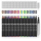 d'art aquarelle Brosse stylos 24 vives marqueurs avec pointe brosse en nylon souple pour des...