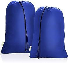 OTraki Heavy Duty Large Laundry Bag 28 x 45inch [2 Pack] XL Drawstring Travel Organizer Bags Camp Home Dorm Tear Resistant...