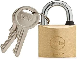 Yale Brass Padlock Short 70mm