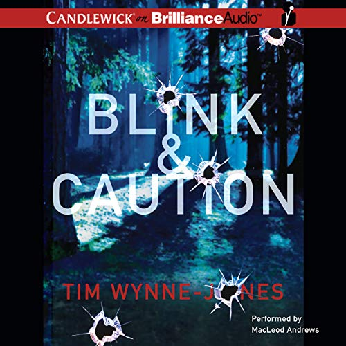Blink & Caution audiobook cover art