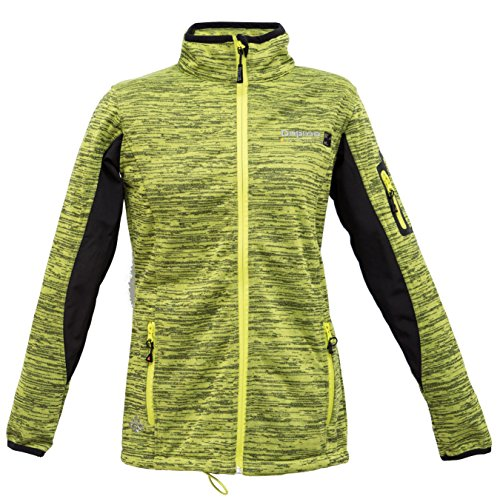 Deproc Active Damen Windstopper Jacke mit Membran Elmsdale Women, lime, 40