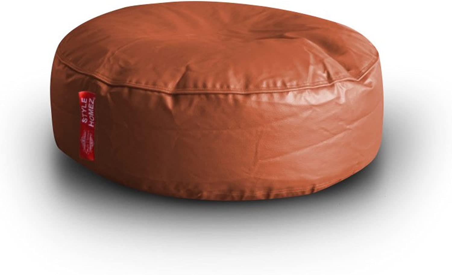 Style Homez Classic Round Floor Cushion XL Size Tan color Cover Only
