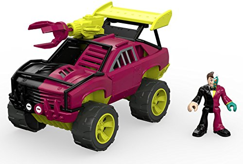 Fisher-Price Imaginext Streets of Gotham City Two-Face & SUV Action Figure