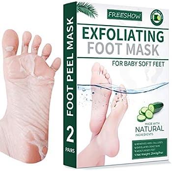 2-Pack Sexrov Foot Peel Mask For Cracked Heels, Dead Skin & Calluses