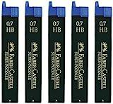 Faber-Castell 120500 Bleistiftminen, 5 Dosen