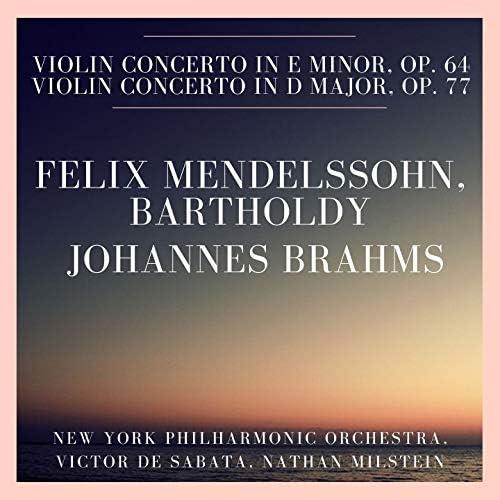 New York Philharmonic Orchestra, Victor De Sabata & Nathan Milstein