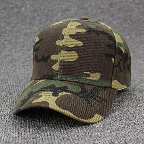 Casquette de baseball militaire camouflage pour homme Casquette tactique Camouflage Casquette Snapback Chapeau pour homme Bone Masculino Dad Hat Trucker Desert, Camouflage.