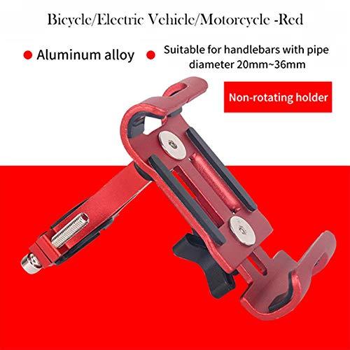 K-ONE Multi Colors Aluminium Motorrad Fahrrad Fahrradhalterung MTB Lenker für Mobiltelefon GPS GPS Telefonständer Versorgung Großhandel, Rot
