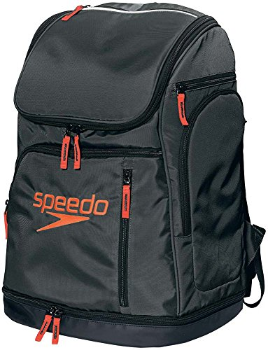 Speedo(スピード) バッグ スイマーズリュック 水泳 ユニセックス SD96B01 ブラック/レッド ONESIZE