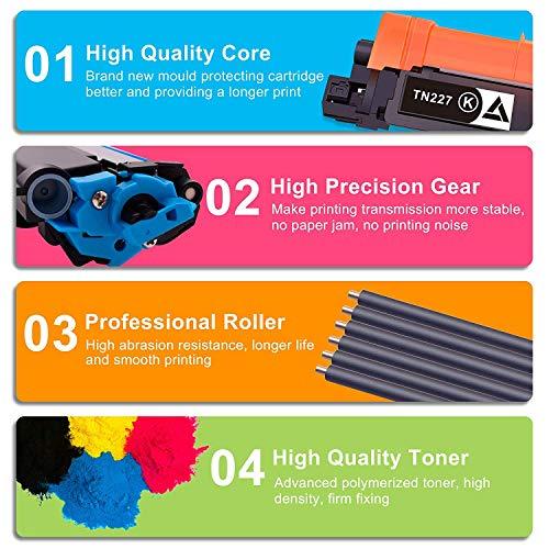 4Benefit Compatible Toner Cartridge Replacement for HP 48A 248A CF248A to Used for HP Laserjet Pro M15w M15a M16a M16w MFP M29w MFP M29a MFP M28w MFP M28a Printer (Black, 2-Pack) Photo #7