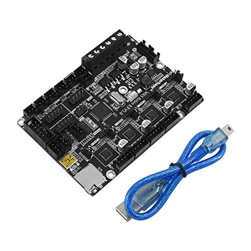 Aibecy Placa de control MKS Robin E3 V1.0 de 32 bits, integrada TMC2209 UART Mode Upgrade Accesorios de impresora 3D Placa base compatible con Creality Ender 3 Ender 5 CR-10