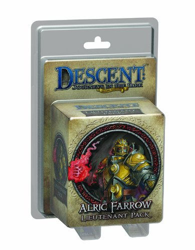 Descent Second Edition: Alric Farrow Lieutenant Miniature