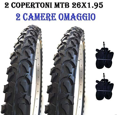 2 Copertoni Bici MTB 26 Per Bicicletta Mountain Bike 26x1.95 Gomme Pneumatici CHAOYANG
