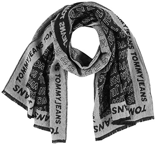 Tommy Jeans Damen Tjw Allover Logo Scarf Schal, Mehrfarbig (Multi 0Gt), One Size