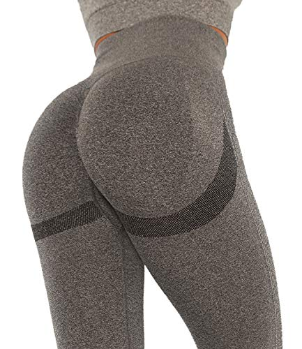 DUROFIT Scrunch Butt Sportleggings Booty Lifting Leggins Sportstrumpfhosen Po Push Up Ruched Sport Tights Yoga Pants Laufhose Fitnesshose Yogahose Jogging Running Workout Leggings Training Gym Fitness