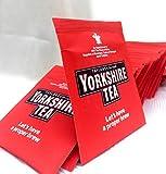 100 (4 x 25) x Yorkshire Tea Bags - Individual Enveloped Tagged Tea bags