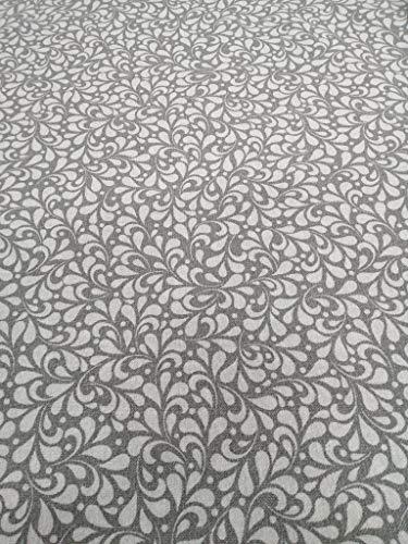 Gewebtes Eisen-Lonette bedruckt YAMENA grau