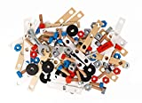 Janod - J06480 - Baril Bricolage Brico'Kids 50 Pièces (bois)