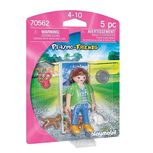 PLAYMOBIL PLAYMO-FRIENDS 70562 Frau mit Katzenbabys, Ab 4 Jahren