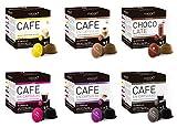 VIAGGIO ESPRESSO - 60 Capsules de Café Compatibles avec Dolce Gusto - MIX COLLECTION