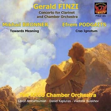 Gerald Finzi: Concerto for Clarinet