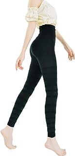 フラミンゴ レギンス ヨガパンツ フィットネスパンツ ブラック 着圧 加圧 美脚 美尻 くびれ 骨盤サポート