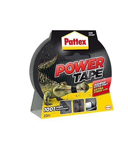 Pattex Power Tape Reparatur-Klebeband in Box, 10 m, Schwarz