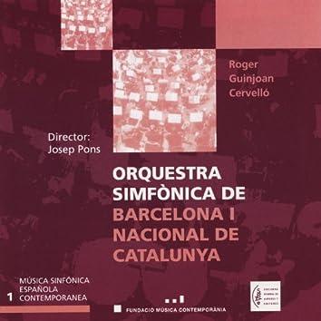 Música Sinfónica Española Contemporanea. Vol.1