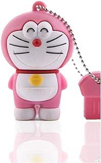 USB Flash Drive USB Flash Disk Memory Stick Thumb Pen USB2.0 Novelty Cartoon Super Cute Doraemon Shape Design Dingdong Cat...