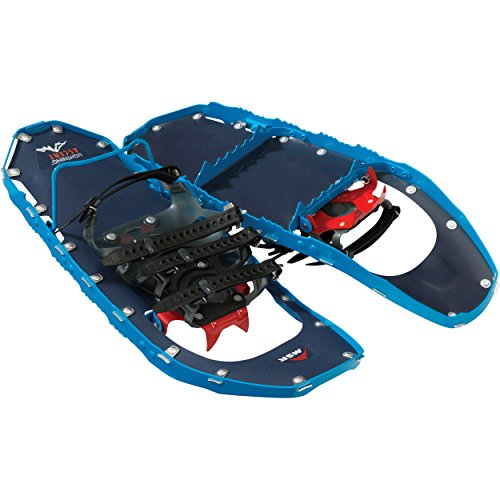 MSR Lightning Ascent Backcountry & Mountaineering Snowshoes (2018 Model), 22 Inch Pair, Cobalt Blue