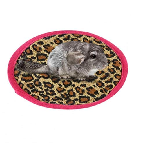 AYRSJCL Calientes Lindos Cotten Ronda de Pequeños Animales del sueño Estera del cojín Amortiguador Cama Nido para Hamster Erizo Ardilla Ratas Ratas Jaula del Animal doméstico Suppliesdark Brown