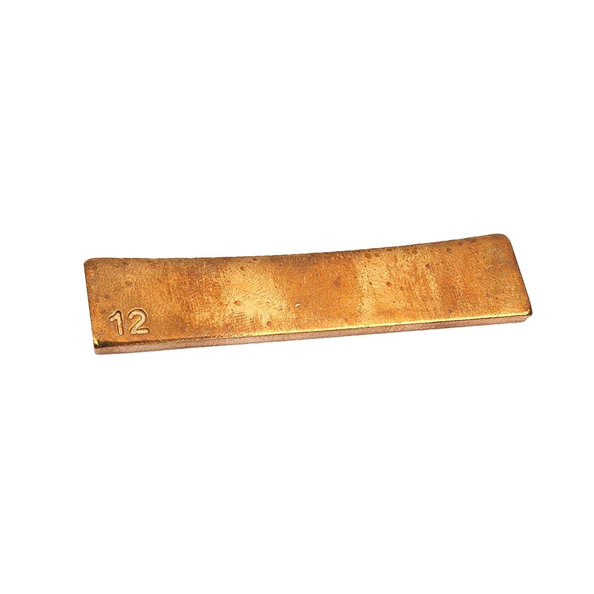掘る元に戻す相関するHomyl 耐久性 真ちゅう製 ギター半径 フレットプレスカウル インサート 全9サイズ - 12 インチ