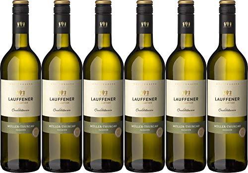 6x Lauffener Weingärtner Müller-Thurgau ObA feinherb 2019 - Lauffener Weingärtner eG, Württemberg - Weißwein