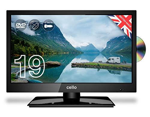 Cello 12 Volt 19' inch ZRTMF0291 Traveller Satellite LED TV 2020 Model Made in...