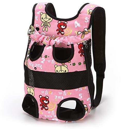 PETCUTE Hunderucksack Hundetragetasche Tragetasche für klein Hunde katzenrucksack Transport Rucksack für Haustier Brust