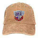 Yuanmeiju Cappellino in Denim Trans Formers Optimus Prime Unisex Vintage Jeans Baseball Hat Adjustable Denim cap Trucker Hat