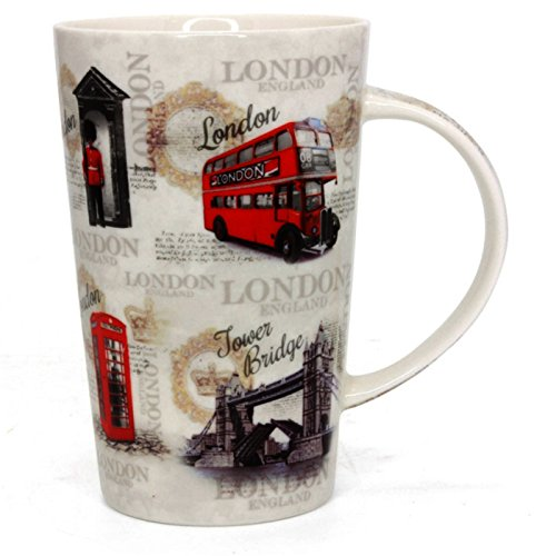 Vintage London Latte Kaffee Tasse lp41340